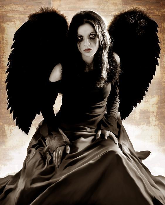 Dark ghotic angel