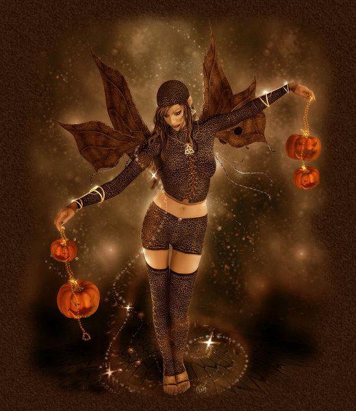 Dark Fairy Pumpkin