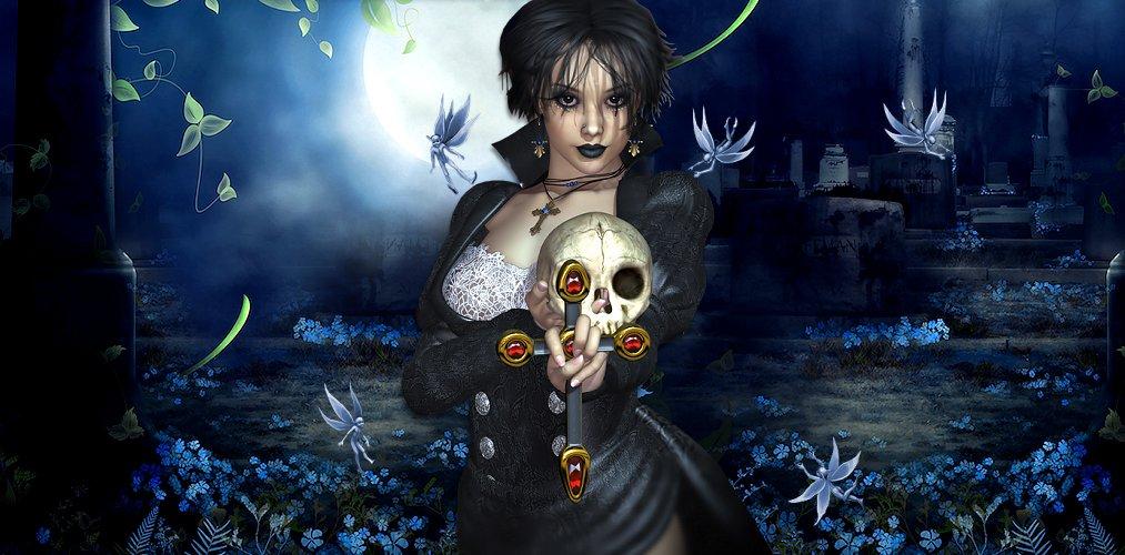 Gothic Skull Halloween