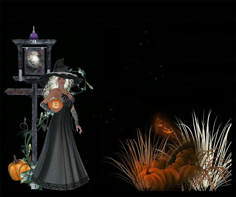 Witch Lantern Halloween