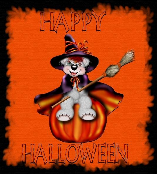 Cute Happy Hallowen