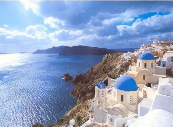 Santorini, isola meravigliosa della magica Grecia