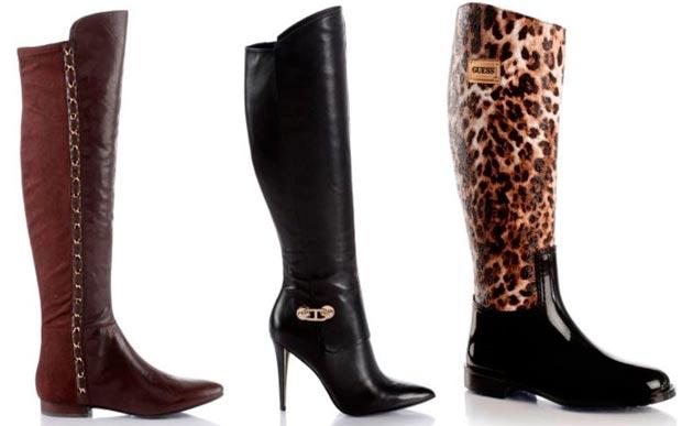 Scarpe e stivali fashion tendenze moda inverno