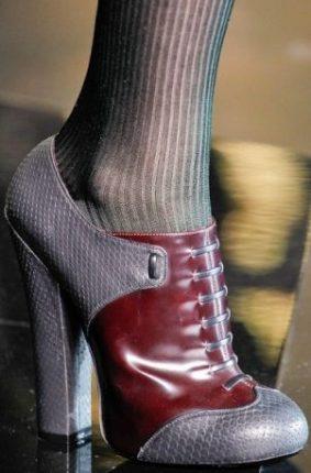 Scarpe Stringate Alte Inverno Louis Vuitton
