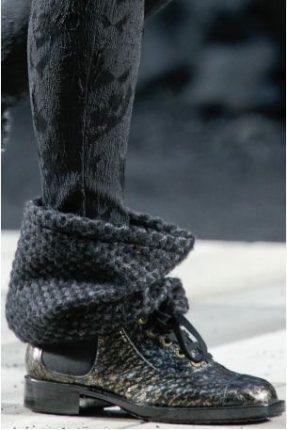 Tendenza Scarpe Inverno Chanel