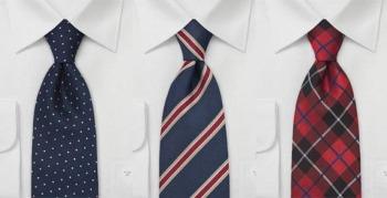 Cravatta di seta per uomo