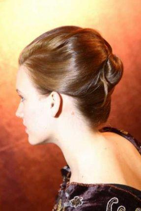 Acconciatura Chignon