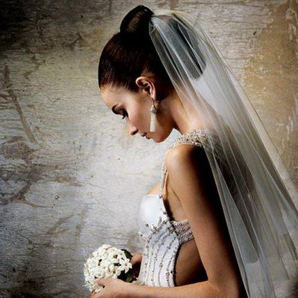 Acconciature Per La Sposa Velo Lungo
