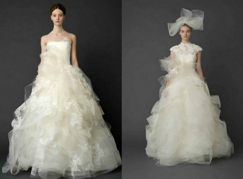 Strati-e-strati-di-tulle-per-una-sposa-romantica-e-femminile.-Vera-Wang-Bridal-Collection-2012