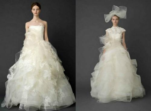 Strati-e-strati-di-tulle-per-una-sposa-romantica-e-femminile.-Vera-Wang-Bridal-Collection-2012