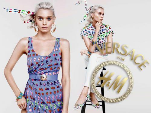 Versace per H  M - completa raccolta Crusie