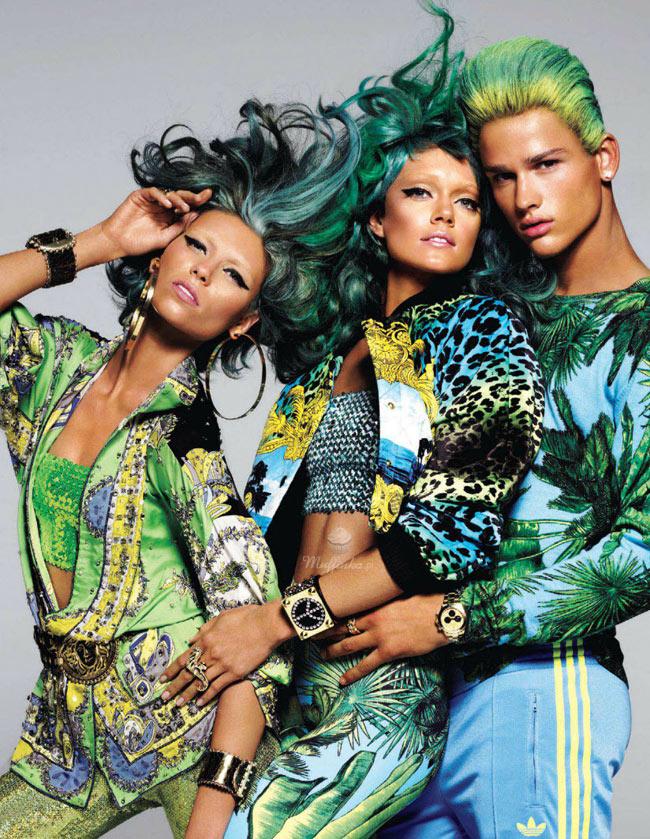 Versace-fantasia tendenza per il 2012-9