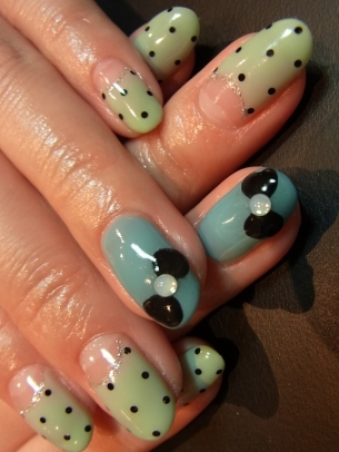 Colorful Nail Art 9 T