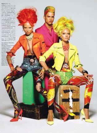 Versace Fantasia Tendenza Per Il 2012 1