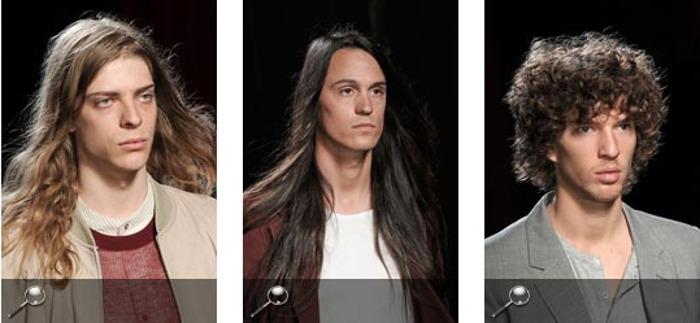 Capelli e look per uomo alla moda tagli lunghi