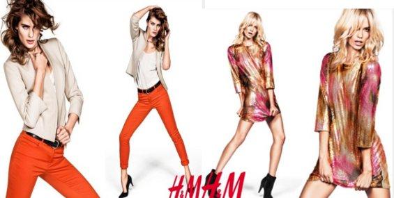 HM collezione moda primavera estate 2012