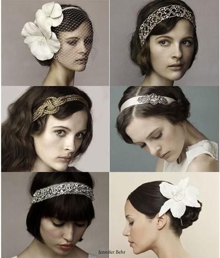 Idee per acconciature capelli sposa anni trenta
