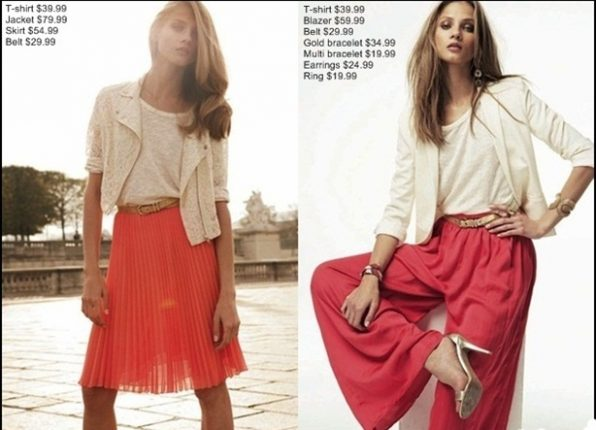 Mango collezione moda primavera estate 2012-2