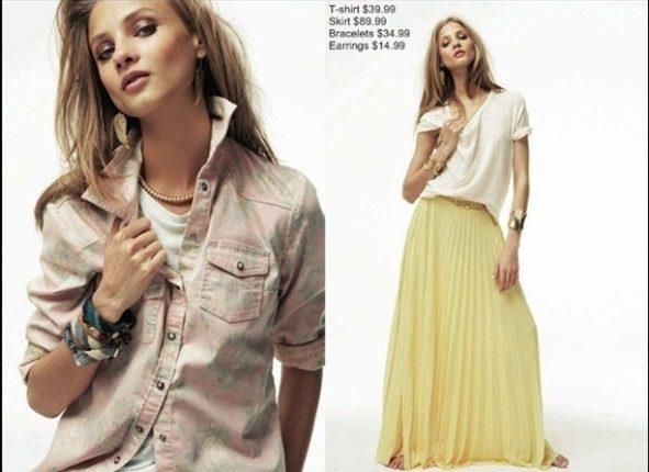 Mango collezione moda primavera estate 2012