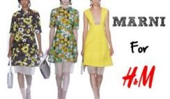 Marni for H M a Hollywood per lanciare nuova collezione moda