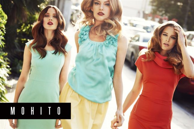 Mohito collezione moda primavera - estate 2012 -2