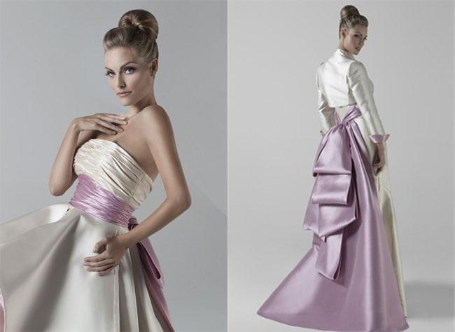 Non solo bianco per la sposa tendenze abiti
