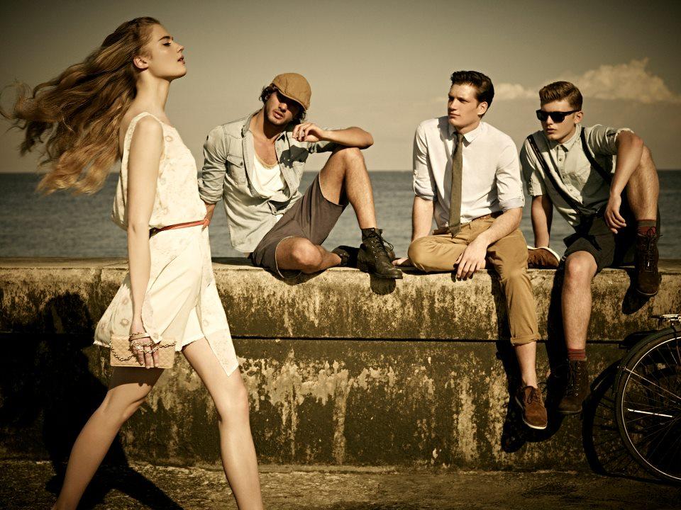 PullBear collezione moda primavera estate 2012 1