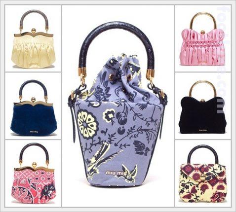 Romantiche borse di Miu Miu Primavera Estate 2012-1