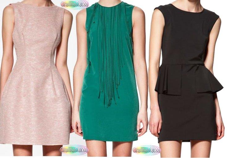 Zara abbigliamento collezione moda primavera estate 2012