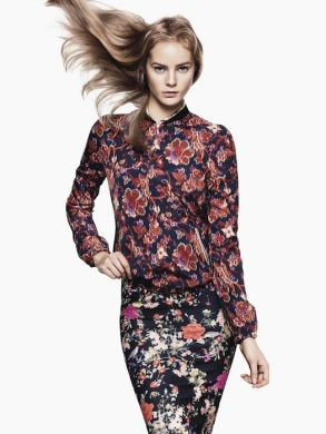 Zara collezione moda abbigliamento P-E 2012-2