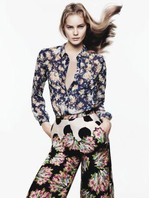 Zara collezione moda abbigliamento P-E 2012-3