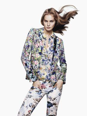 Zara collezione moda abbigliamento P-E 2012