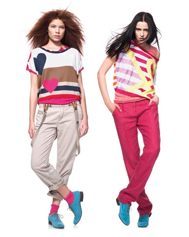 beneton collezione moda 2012