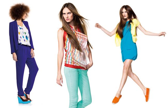 beneton collezione moda primavera estate 2012