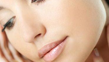 pelle senza difetti