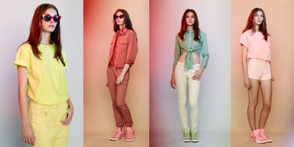 ASOS Candy Denim Collection abbigliamento primavera estate 2012-1