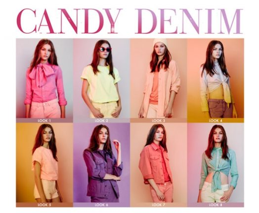 ASOS Candy Denim Collection abbigliamento primavera estate 2012