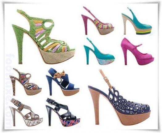 Albano collezione scarpe sandali catalogo primavera estate 2012-3