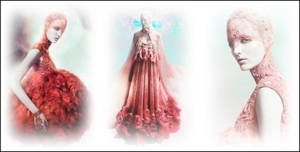 Alexander McQueen collezione moda fashion Primavera Estate 2012