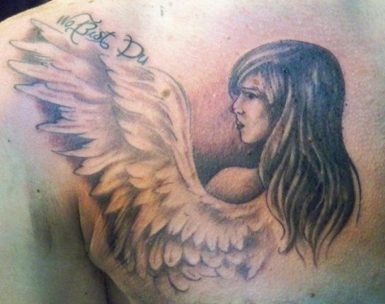 Angeli e fate tatuaggi -2