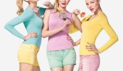 Benetton Pin Up collezione maglie primavera estate