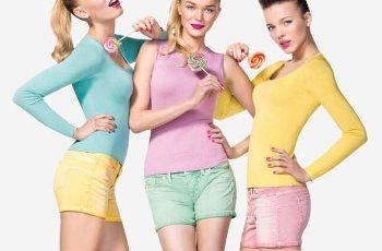 Benetton Pin Up collezione maglie primavera estate