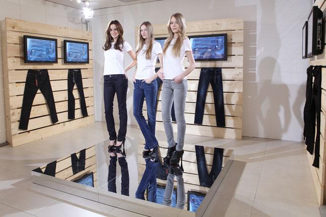 BlueGeox nuova linea di jeans Geox