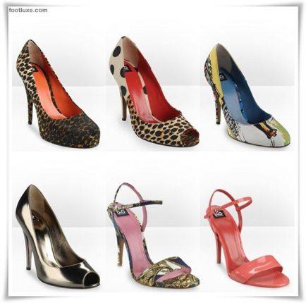 D  G collezione scarpe sandali zeppe primavera estate 2012 -1