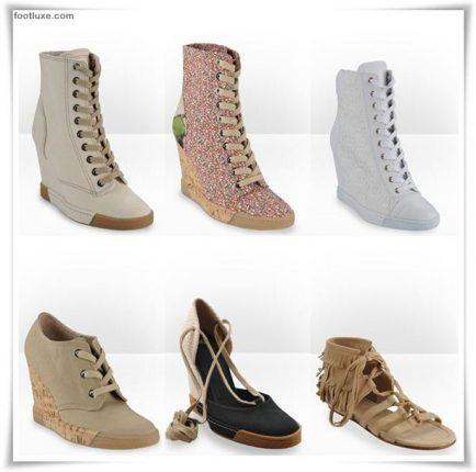 D  G collezione scarpe sandali zeppe primavera estate 2012 -5