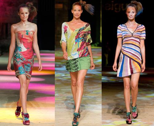 Desigual-collezione pe 2012. Anche per la Desigual abbigliamento ed  accessori moda catalogo e look book primavera estate ... 8183b4f8b841