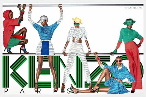 Divertente ed elegante collezione moda Kenzo Primavera Estate 2012-1