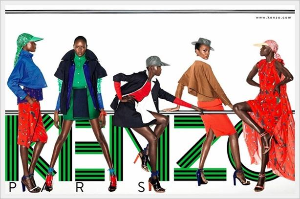 Divertente ed elegante collezione moda Kenzo Primavera Estate 2012