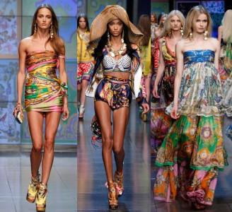 Dolce e Gabbana abbigliamento ed accessori collezione moda primavera estate 2012
