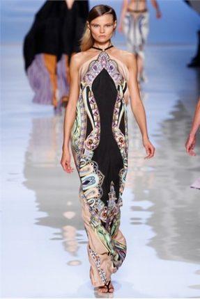 Etro collezione abbigliamento moda fashion Primavera Estate 2012-2